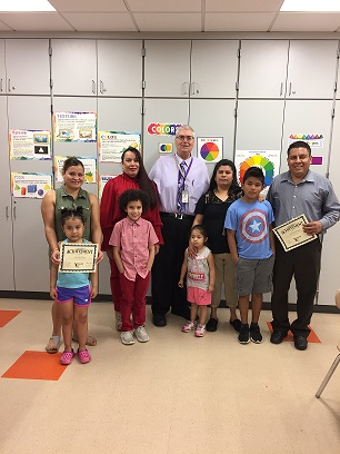 ELL Parents English Classes Celebrate!