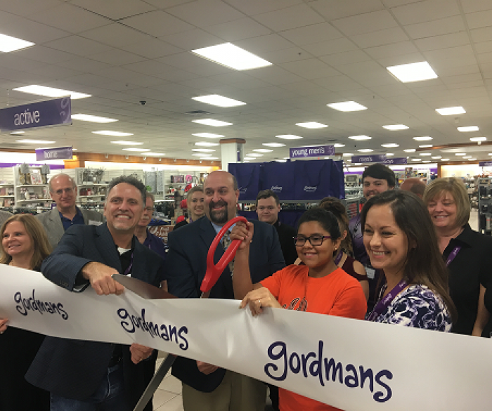 Thank you to our new community partner, Gordmans for your support!